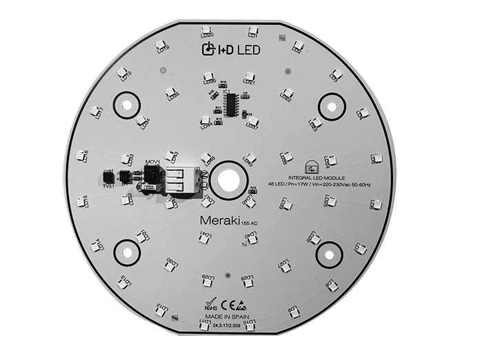 MERAKI AC DIRECT 155 230 VAC ROUND